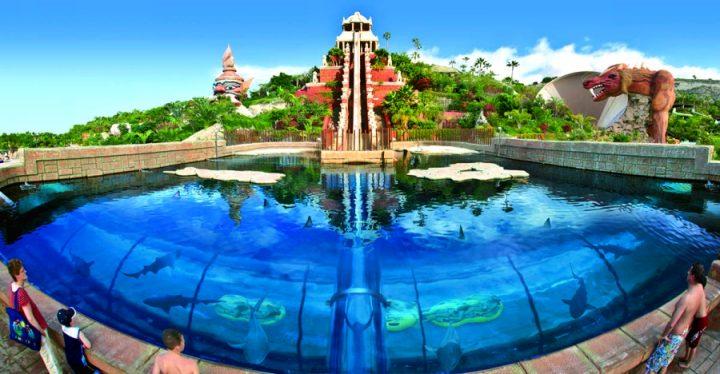 Аквапарк «Сиам Парк» на Тенерифе