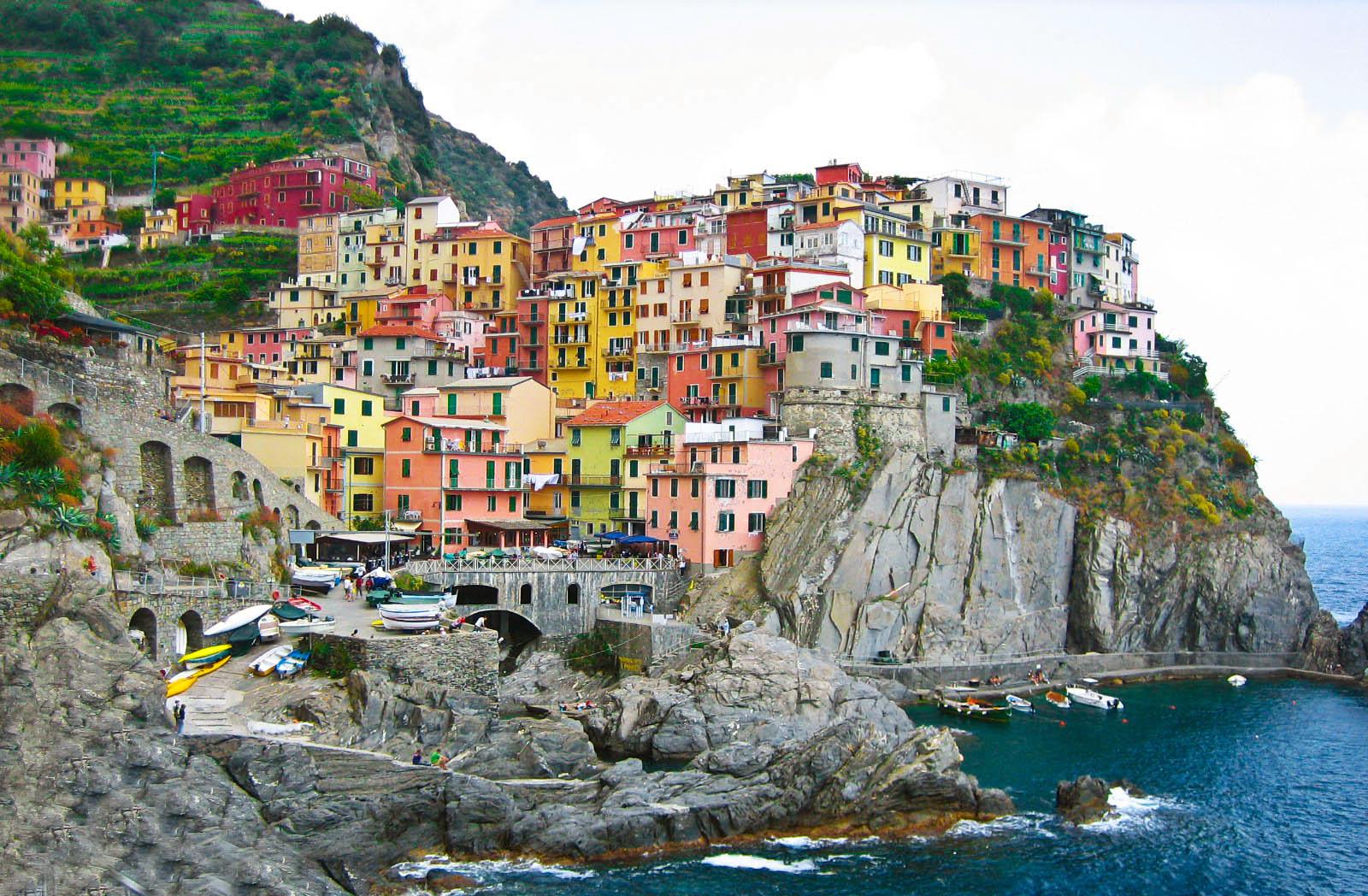 Чинкве-Терре – красота итальянского «Пятиземелья»