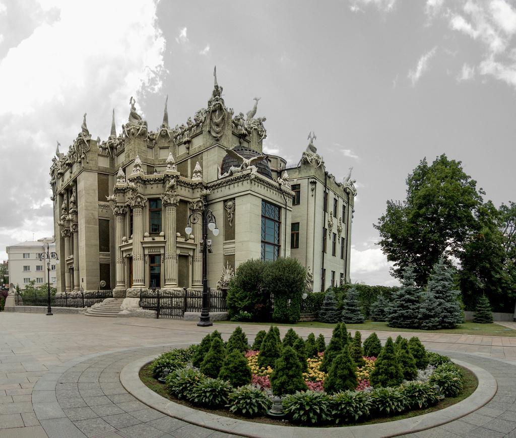 Дом с химерами - Киев
