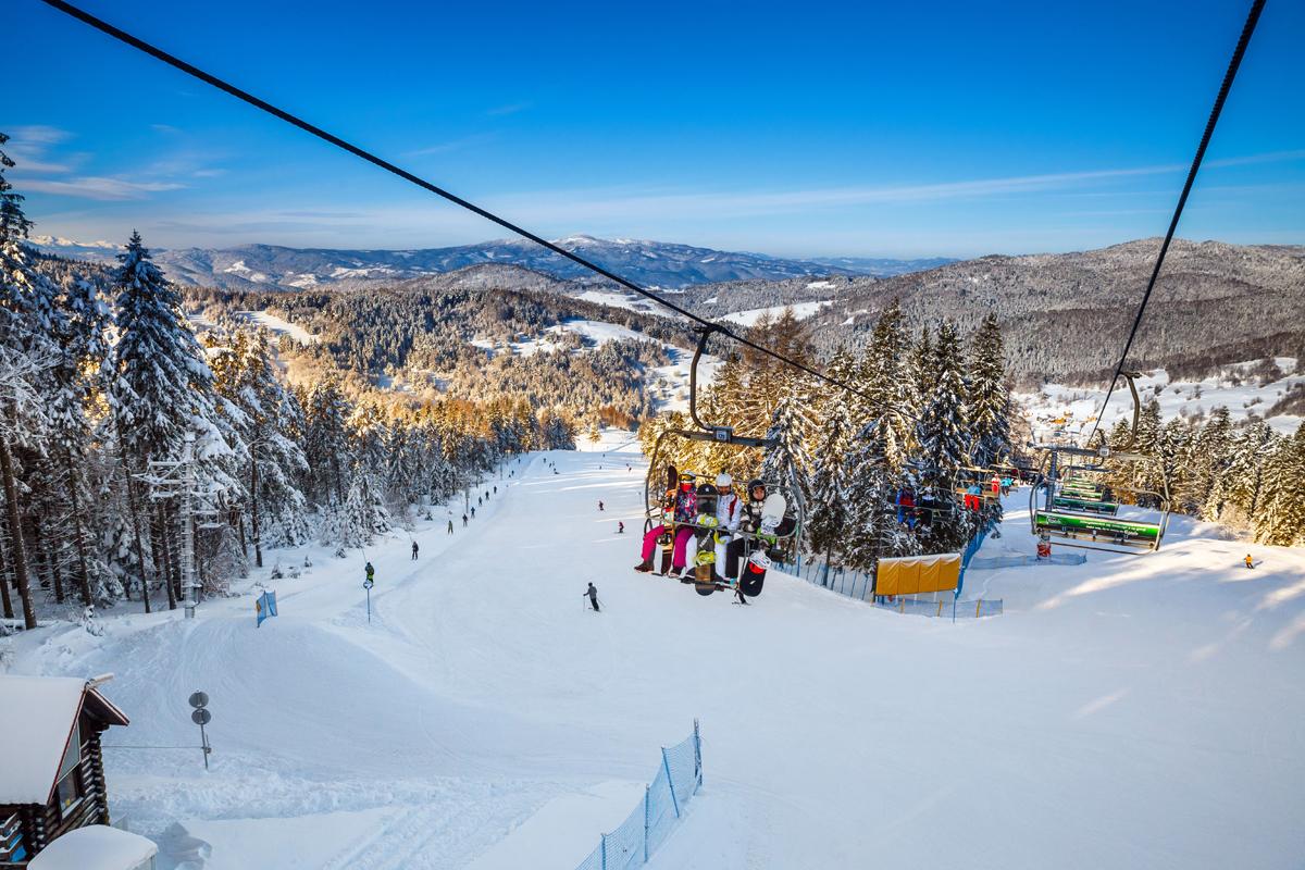 Самые лучшие курорты Польши для горнолыжного катания
